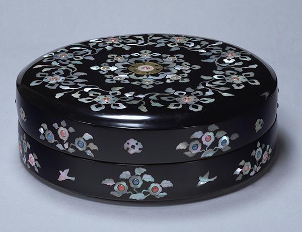 模造 螺鈿玉帯箱(らでんぎょくたいばこ) 東京国立博物館蔵