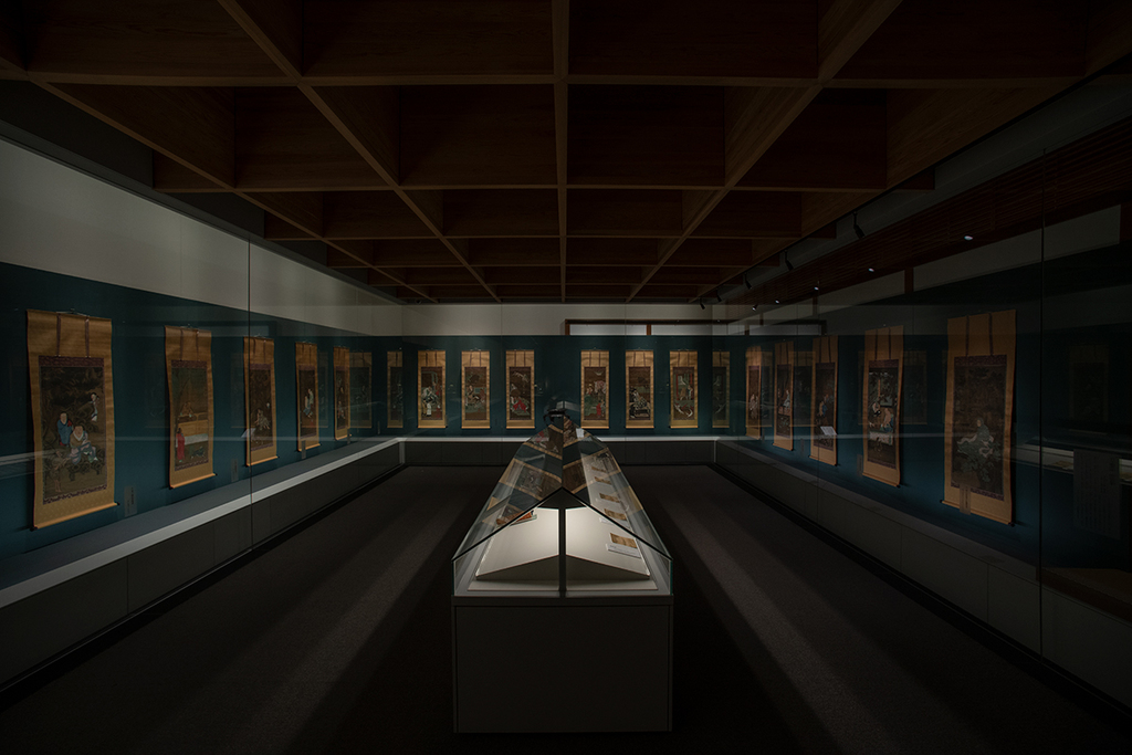 重要文化財 十六羅漢 陸信忠筆 全十六幅を一同に 撮影:西村浩一