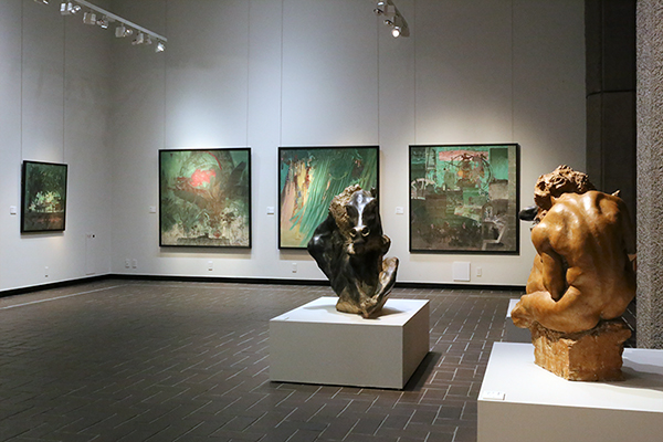 新鋭作家5名の作品展「都美セレクション」