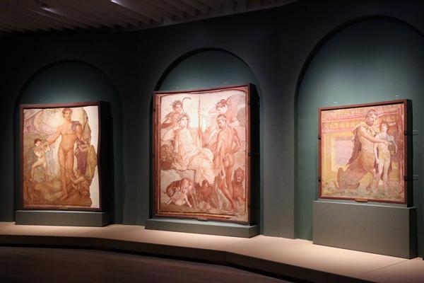 森アーツセンターギャラリー「日伊国交樹立150周年記念 世界遺産 ポンペイの壁画展」