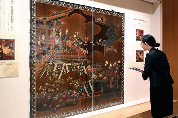 静嘉堂文庫美術館「漆芸名品展 ─ うるしで伝える美の世界 ─」