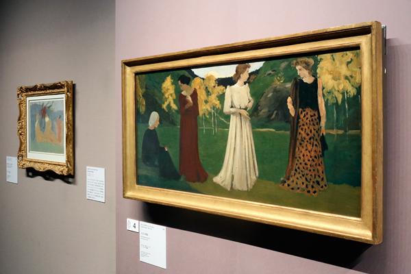 三菱一号館美術館「オルセーのナビ派展:美の預言者たち ―ささやきとざわめき」
